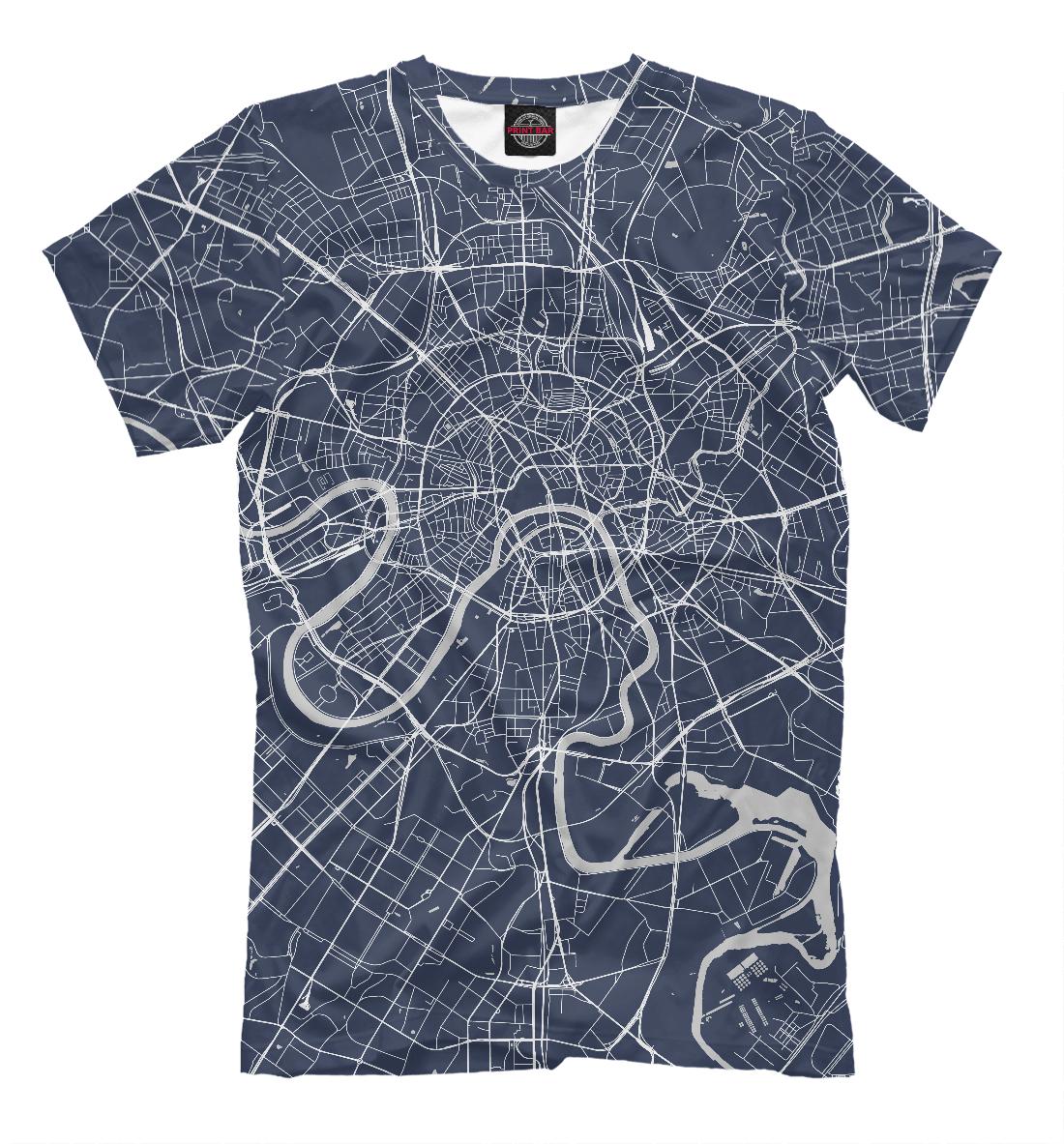 Карта Москвы