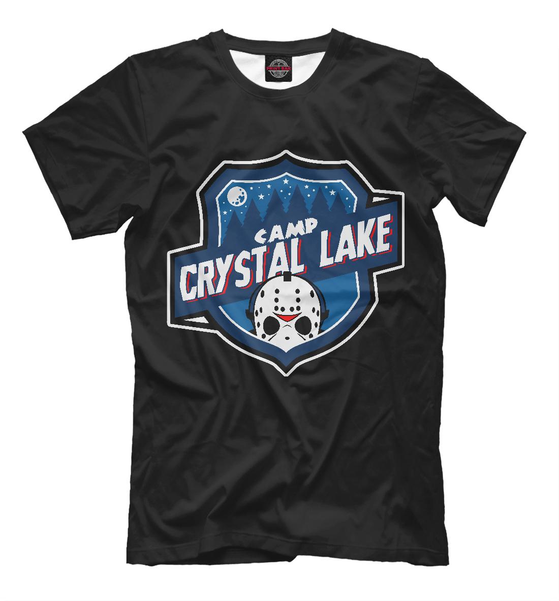 Купить Camp Crystal Lake, Printbar, Футболки, HOR-308210-fut-2