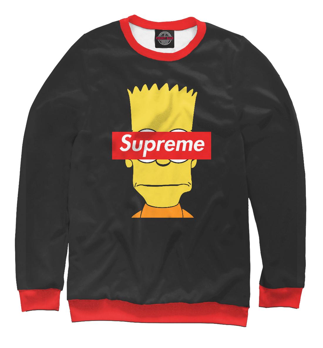 Supreme The Simpsons, Printbar, Свитшоты, SPR-965366-swi-2  - купить со скидкой