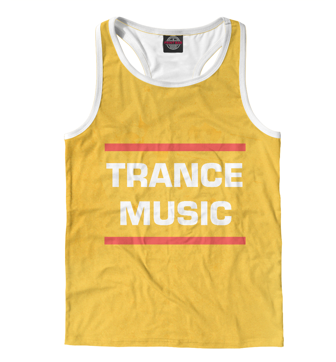 Купить Trance music, Printbar, Майки борцовки, DJS-614478-mayb-2