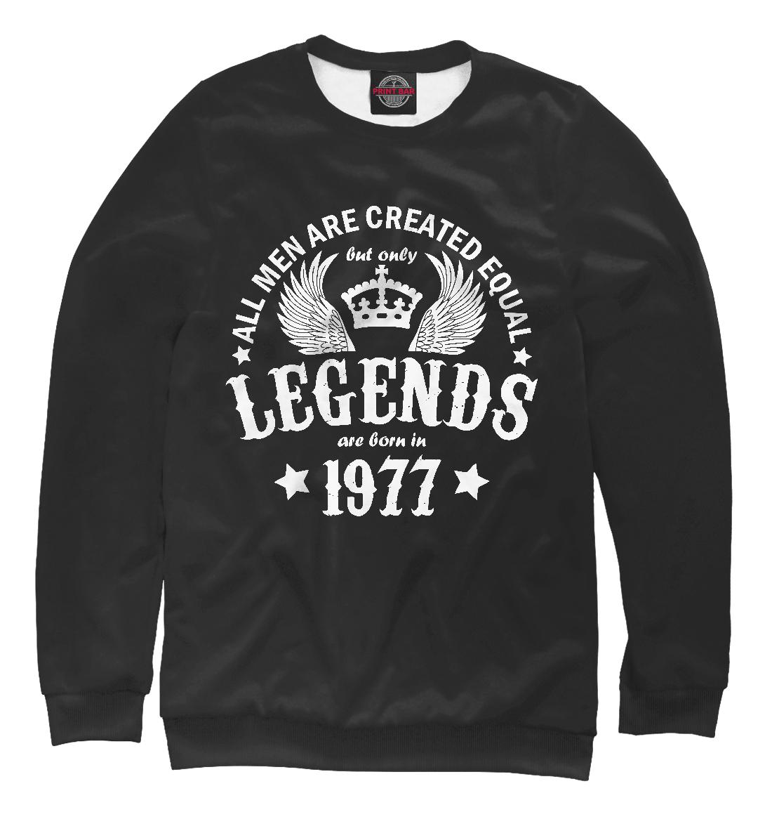 Купить 1977 - рождение легенды, Printbar, Свитшоты, DSE-331591-swi-2