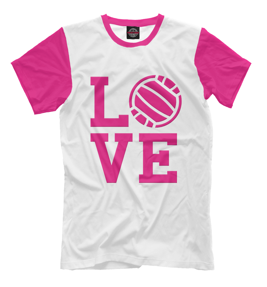 Купить I love volleyball, Printbar, Футболки, VLB-939345-fut-2