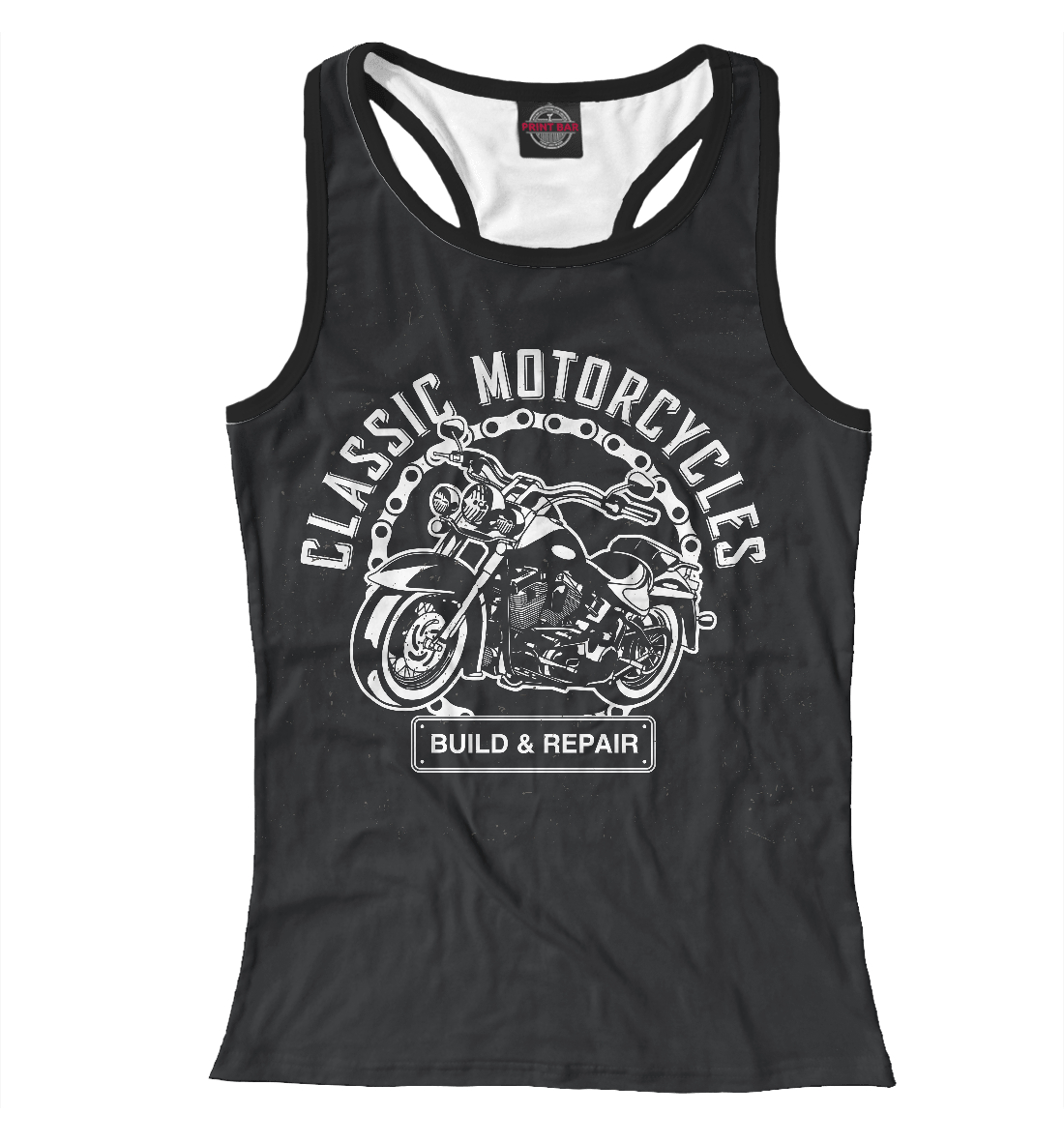 Купить Motorcycles, Printbar, Майки борцовки, MTR-990811-mayb-1