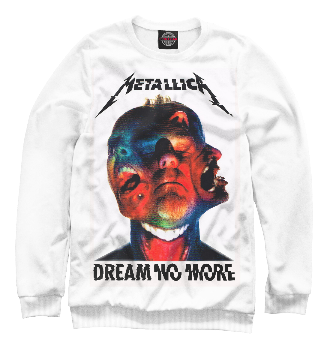 Metallica Dream No More, Printbar, Свитшоты, MET-651214-swi-1  - купить со скидкой