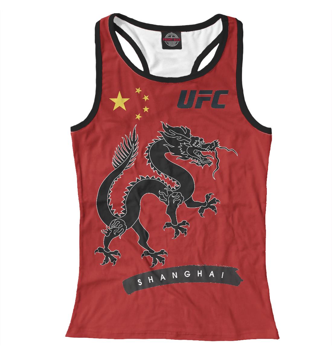 Купить UFC SHANGHAI, Printbar, Майки борцовки, MNU-773763-mayb-1