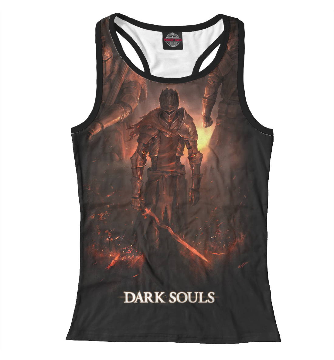 Dark Souls, Printbar, Майки борцовки, DKS-514078-mayb-1  - купить со скидкой