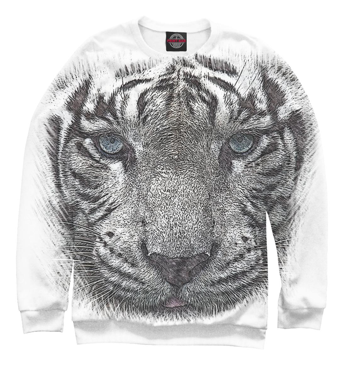 Купить Белый тигр, Printbar, Свитшоты, HIS-798876-swi-2