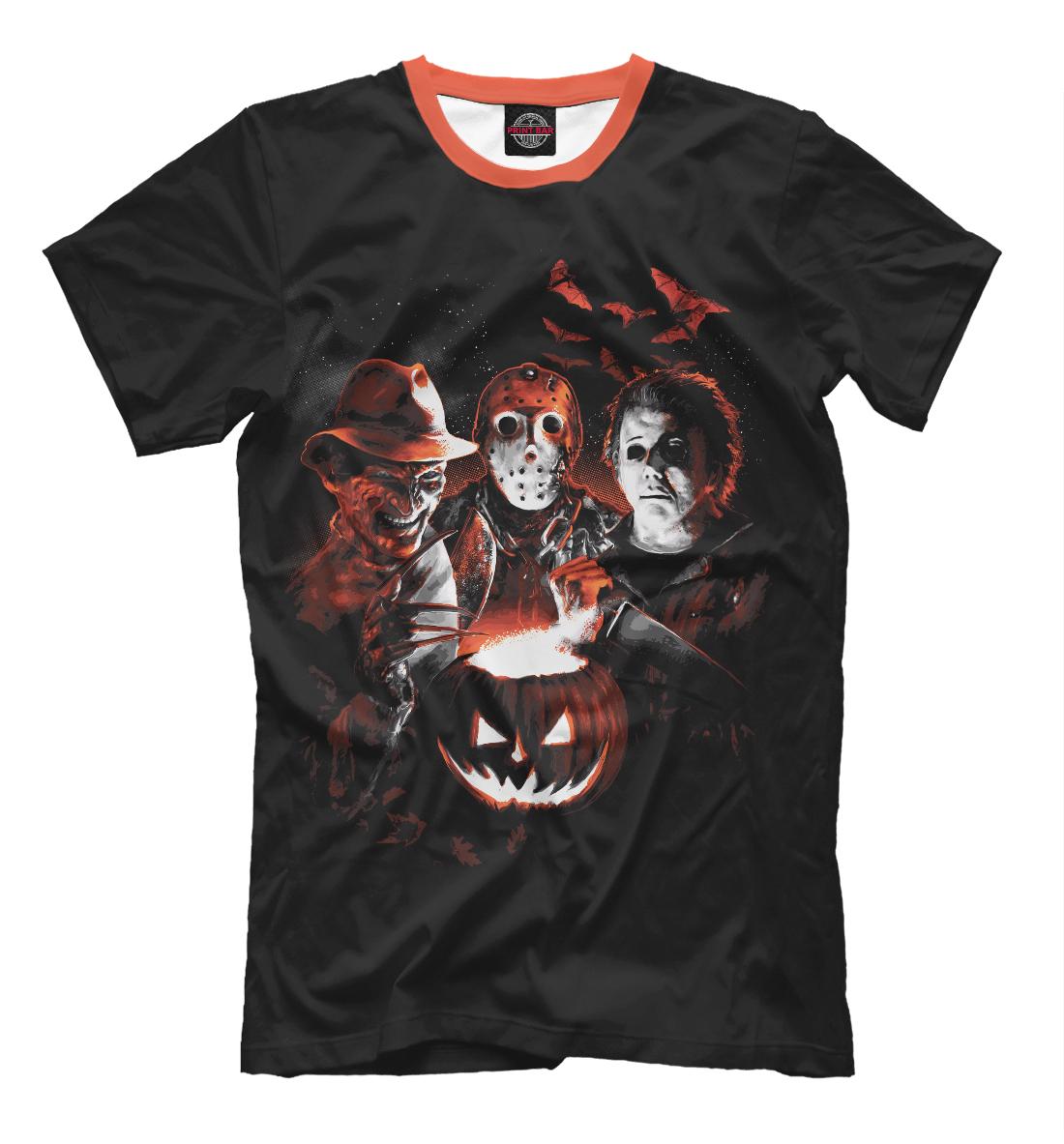 Купить Halloween Horror Team, Printbar, Футболки, HOR-516046-fut-2