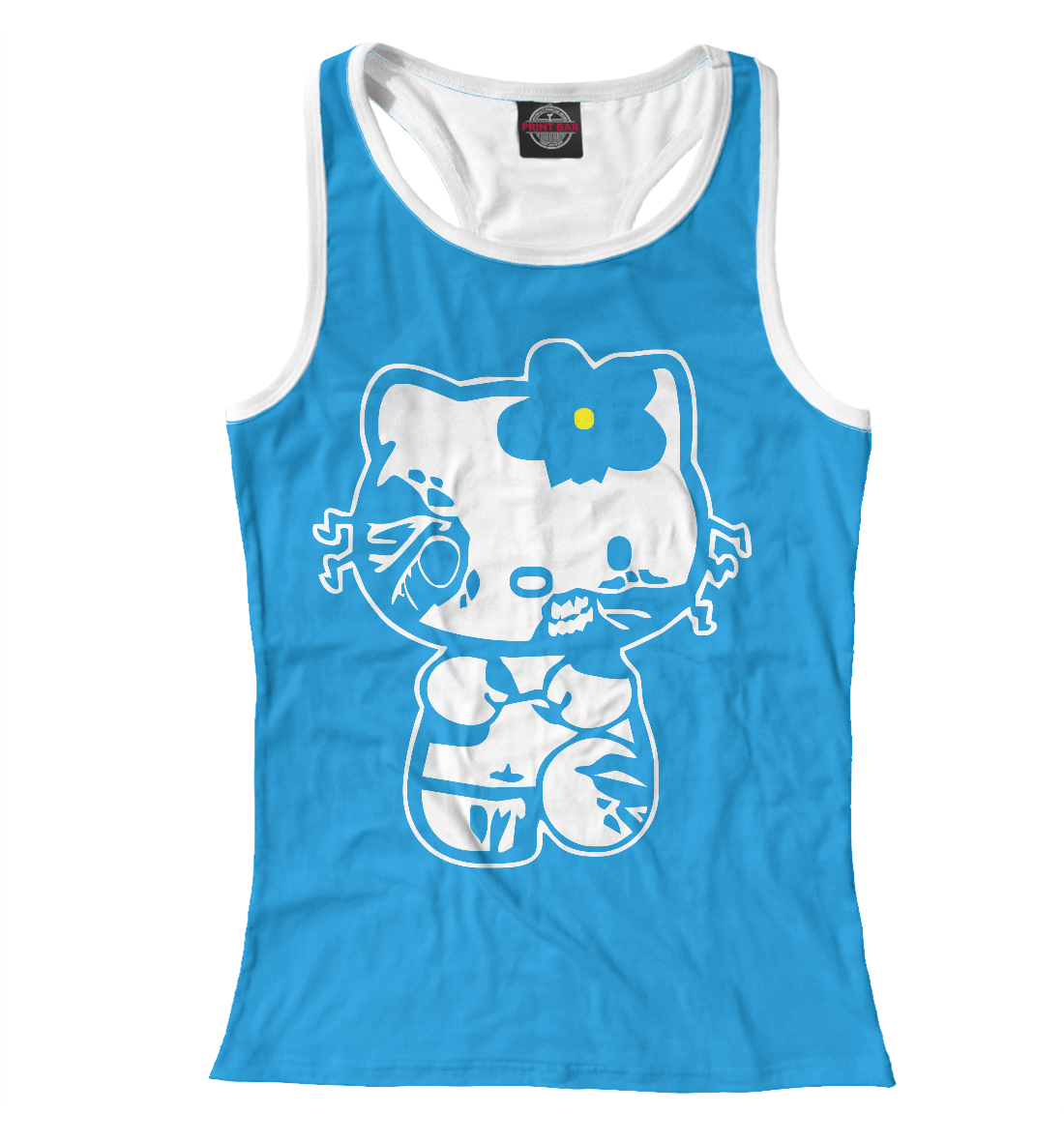 Купить Zombie Kitty, Printbar, Майки борцовки, APD-986140-mayb-1