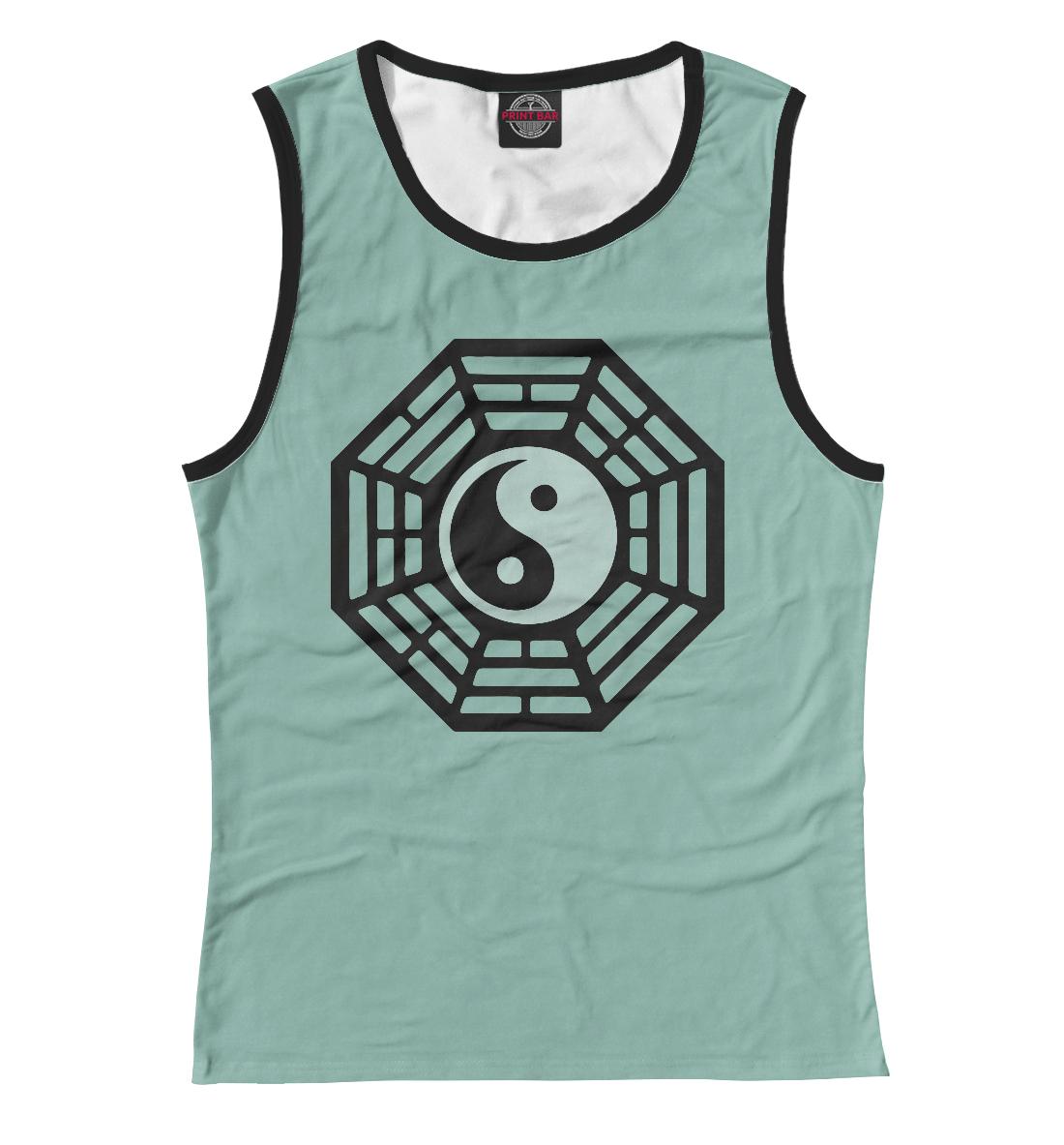 Купить Lost - Dharma Initiative (Blue), Printbar, Майки, APD-420461-may-1