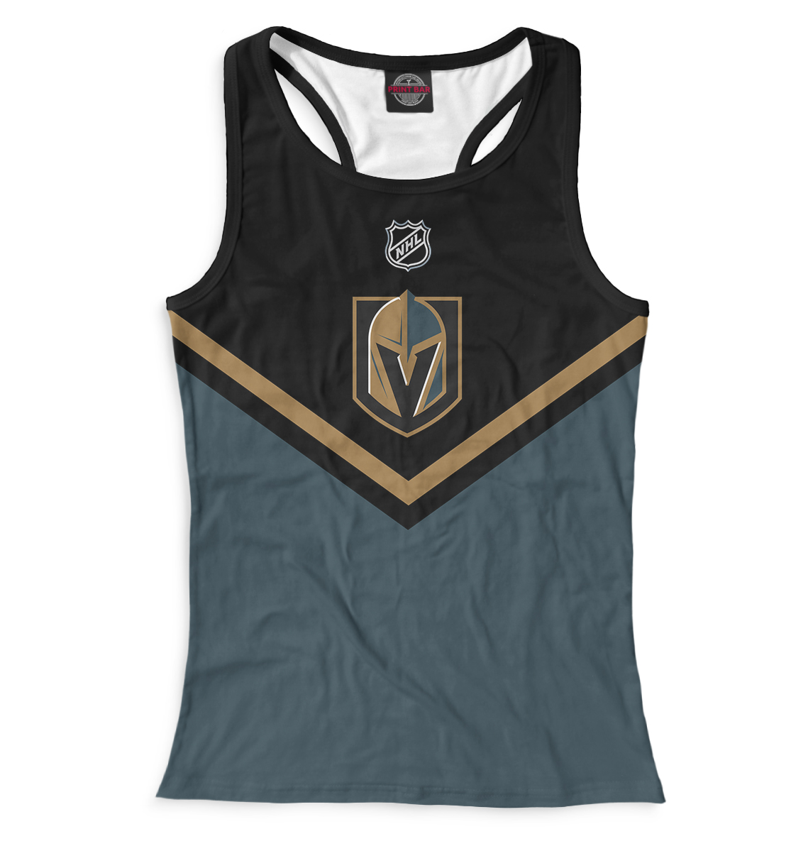 Купить Vegas Golden Knights, Printbar, Майки борцовки, HOK-954458-mayb-1
