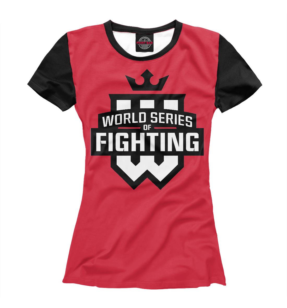 Купить WSOF: World Series Of Fighting, Printbar, Футболки, MNU-671710-fut-1