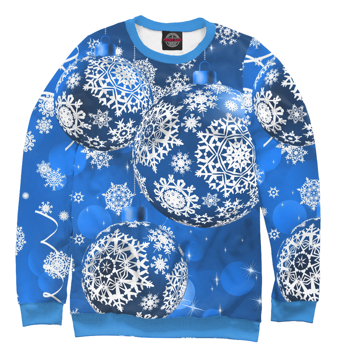 Купить Новогоднее чудо, Printbar, Свитшоты, NYV-294156-swi-1
