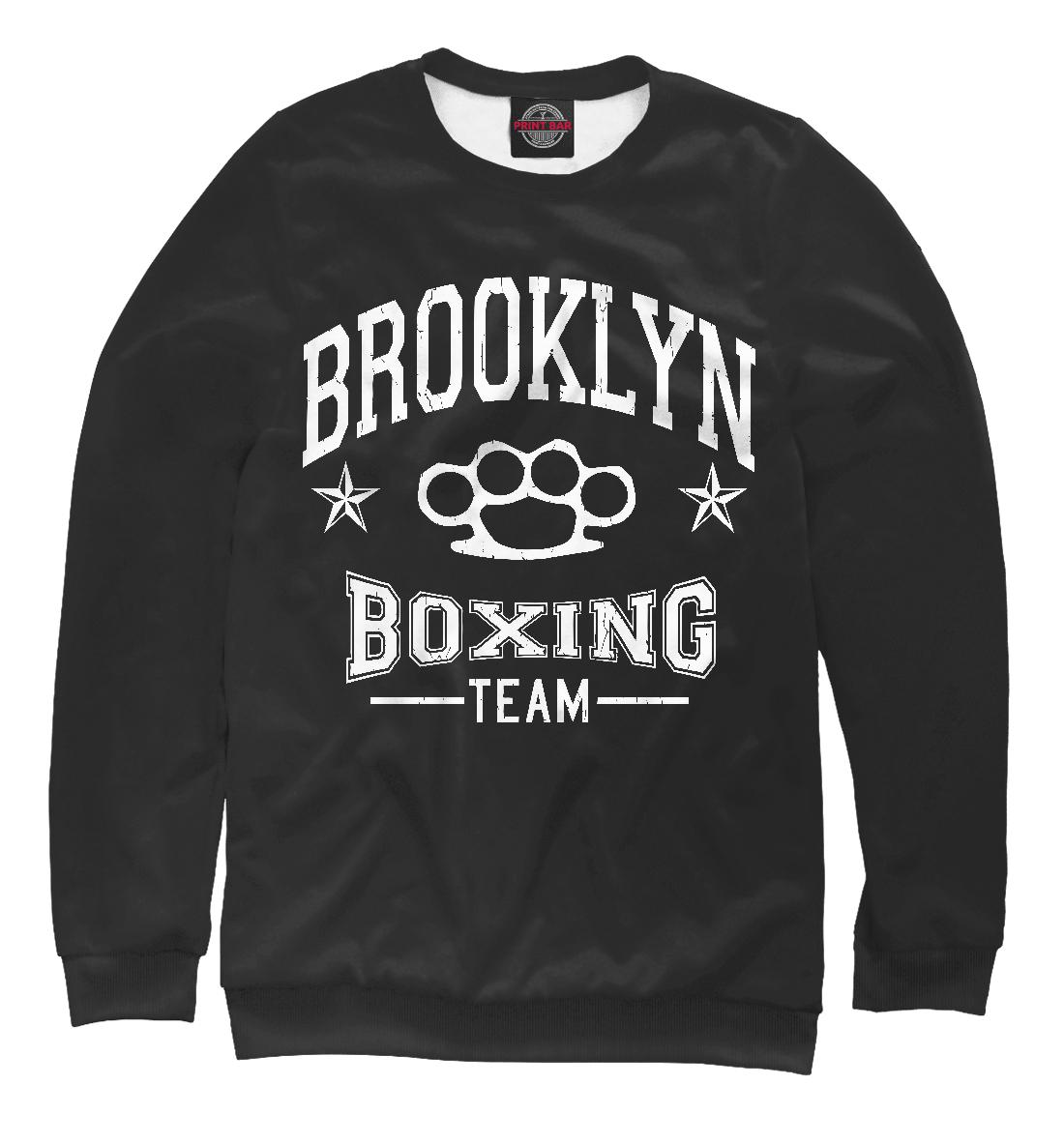 Купить Brooklyn Boxing Team, Printbar, Свитшоты, EDI-519163-swi-2