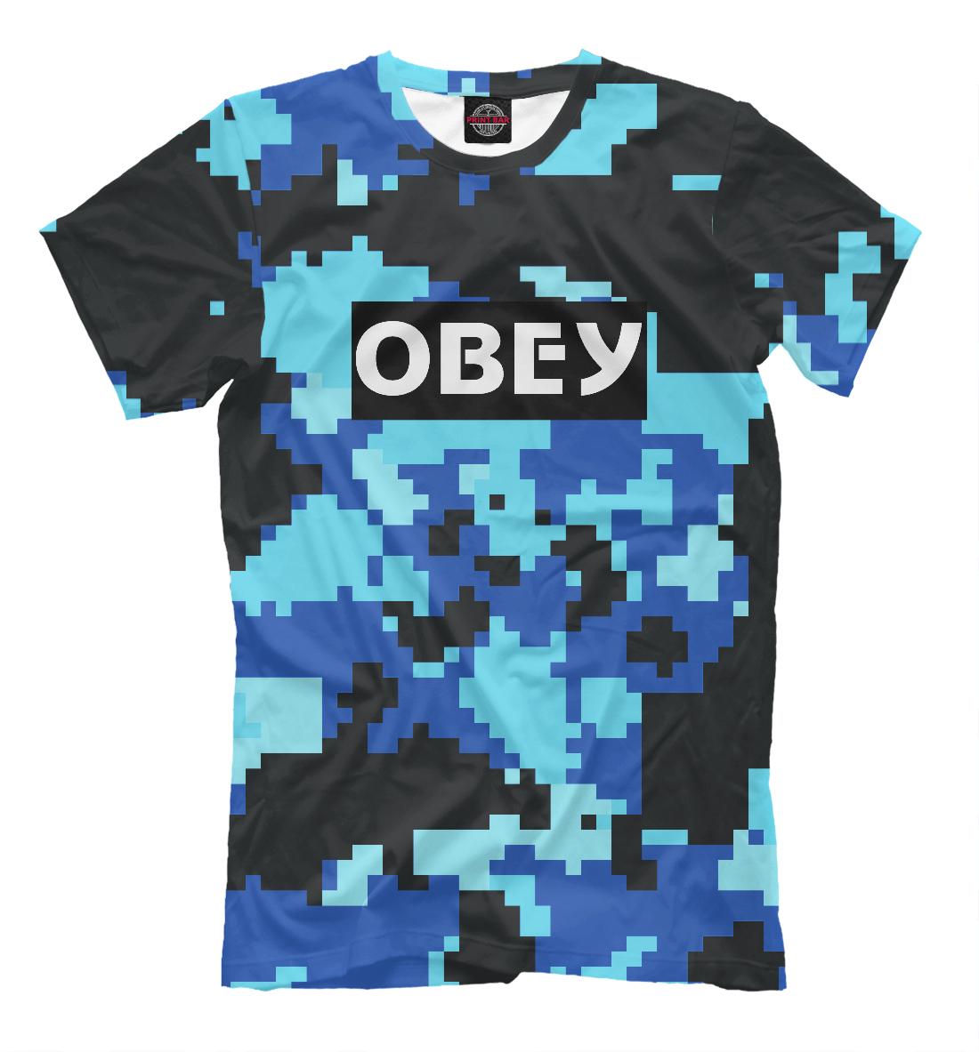 OBEY MILITARY FASHION, Printbar, Футболки, APD-880431-fut-2  - купить со скидкой