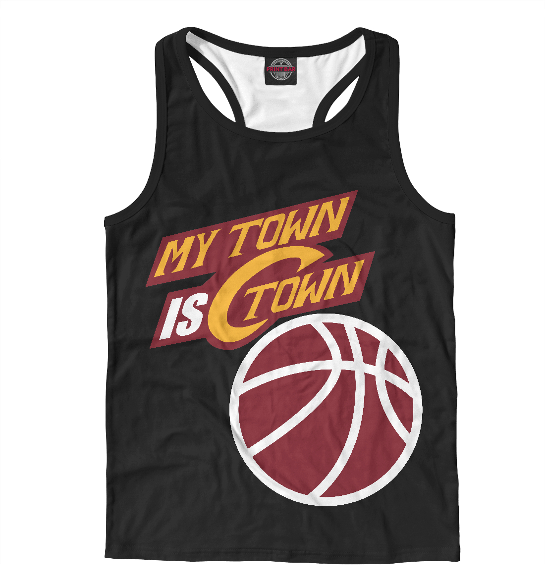 Купить Calaviers Town, Printbar, Майки борцовки, NBA-780696-mayb-2