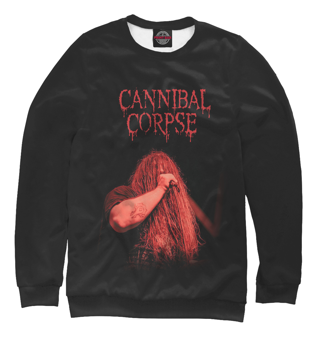 Купить George Fisher (Cannibal Corpse), Printbar, Свитшоты, MZK-217329-swi-1