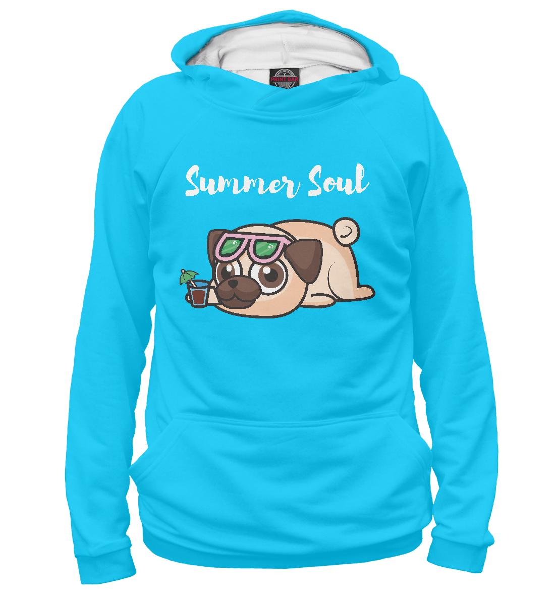 Купить Summer Pug, Printbar, Худи, PUG-749110-hud-2