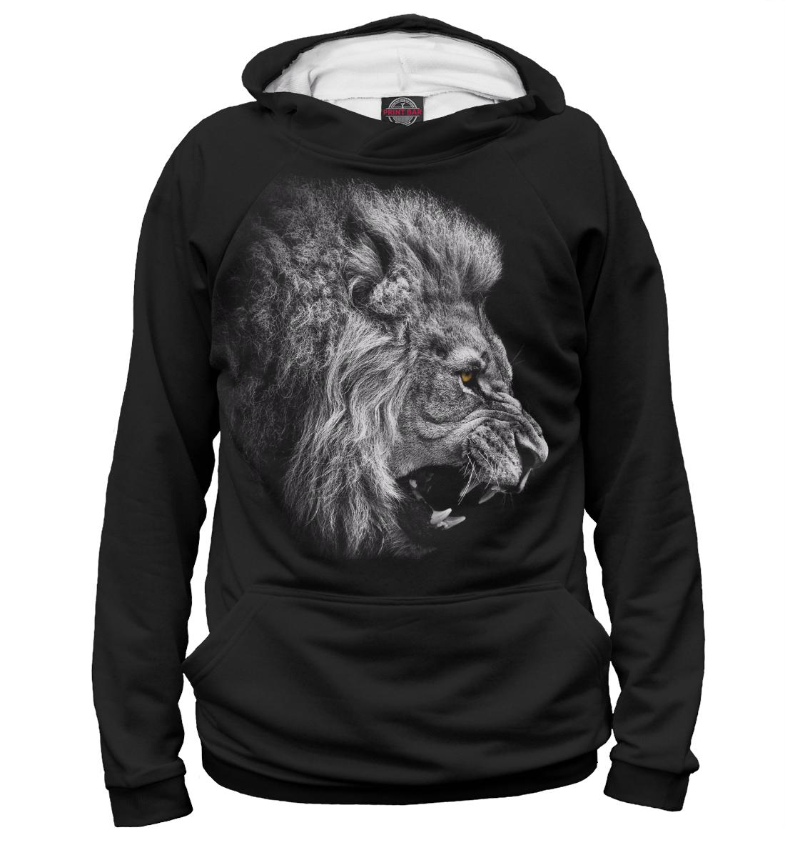 Купить Лев рычащий, Printbar, Худи, HIS-101622-hud-2