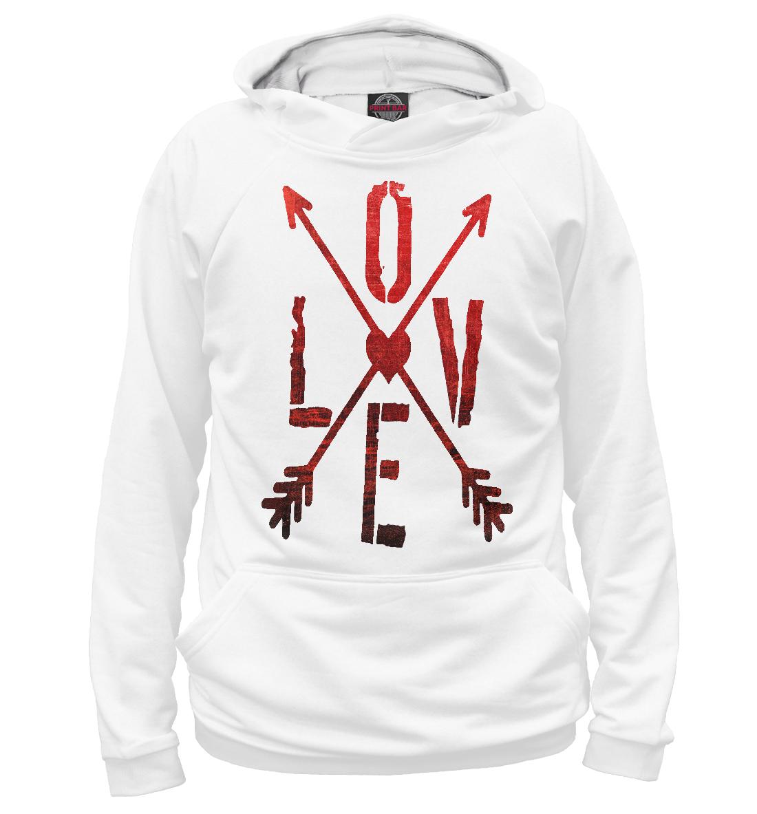 Купить Love и стрелы, Printbar, Худи, 14F-324288-hud-2