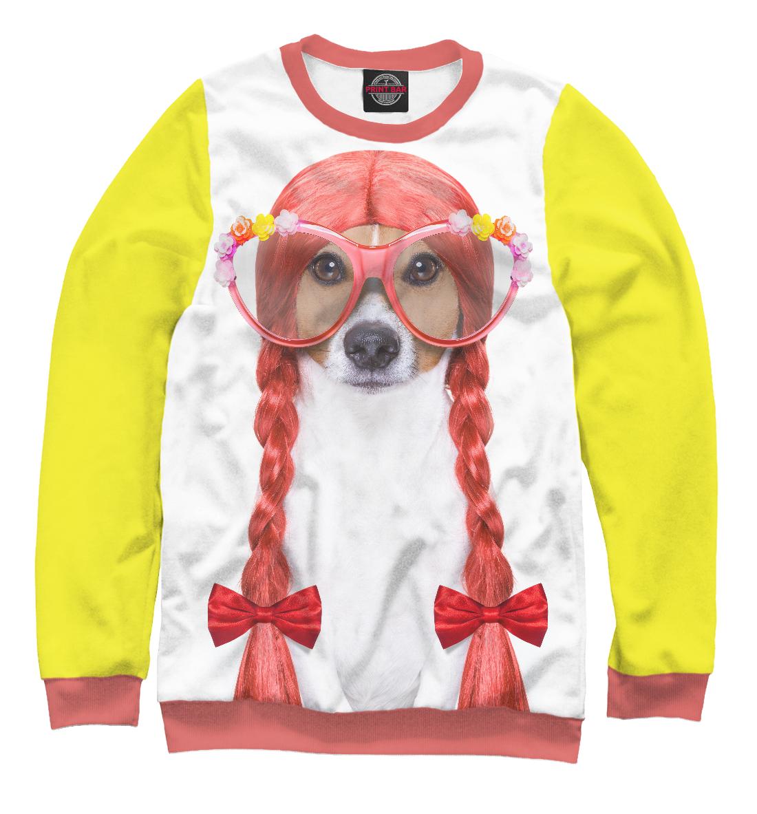 Купить Девочка Джек Рассел, Printbar, Свитшоты, DOG-989854-swi-2
