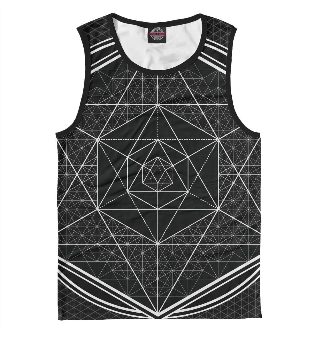 Купить Геометрия, Printbar, Майки, GEO-894990-may-2