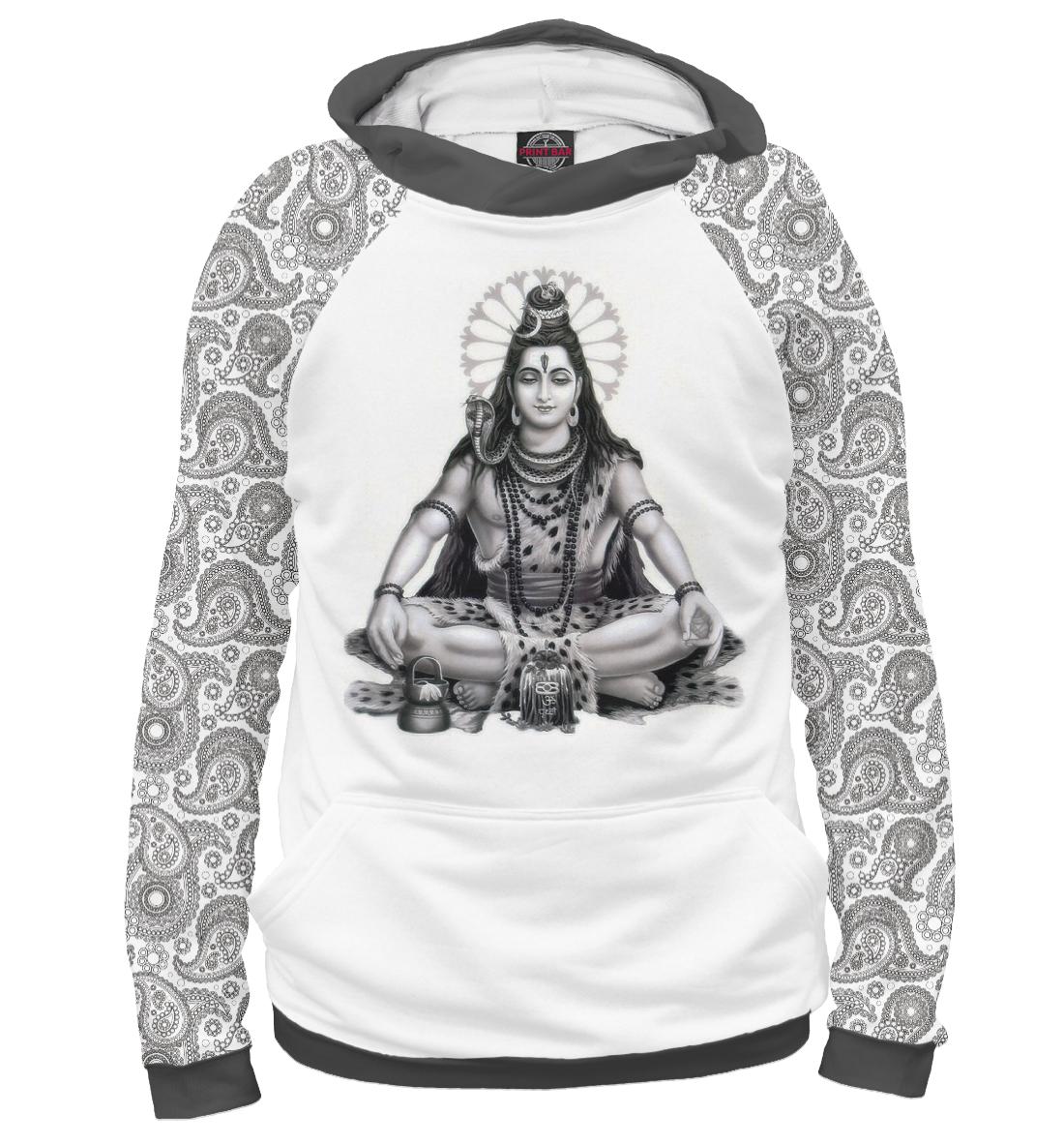 Купить Шива и индийский узор, Printbar, Худи, CTS-893651-hud-2