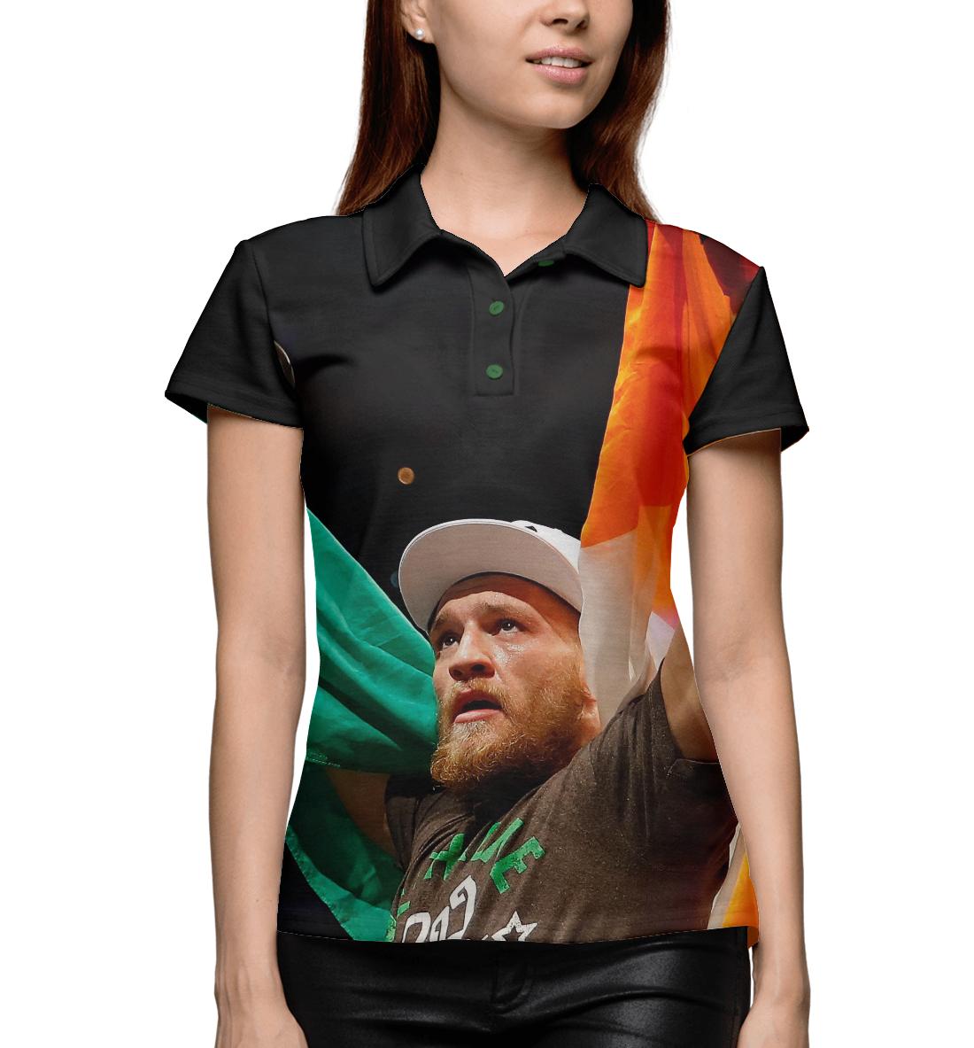 Conor McGregor, Printbar, Поло, MCG-743331-pol-1  - купить со скидкой