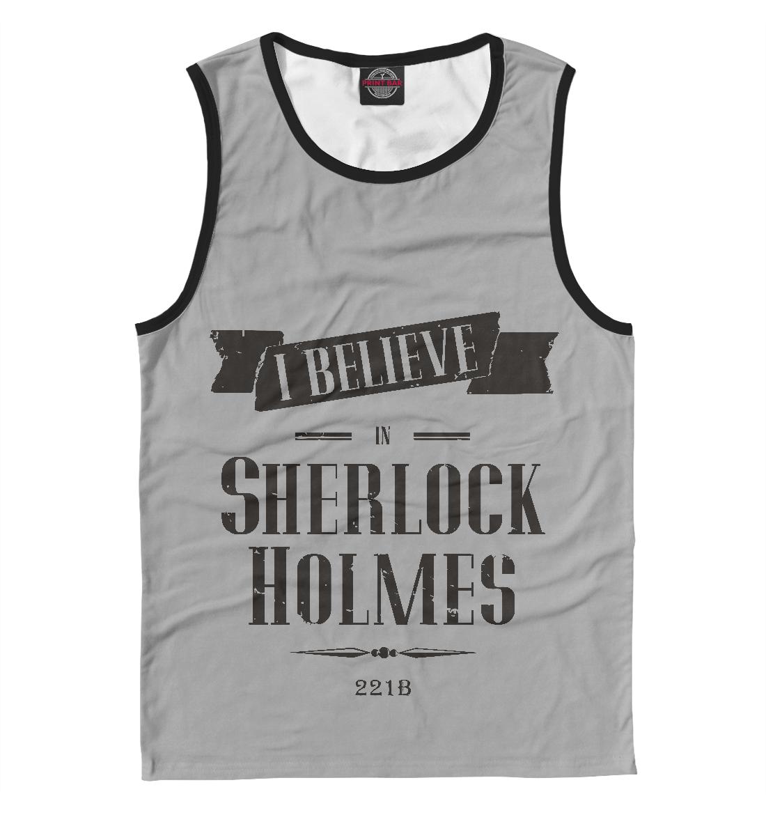 Купить Верю в Шерлока, Printbar, Майки, SHE-507769-may-2
