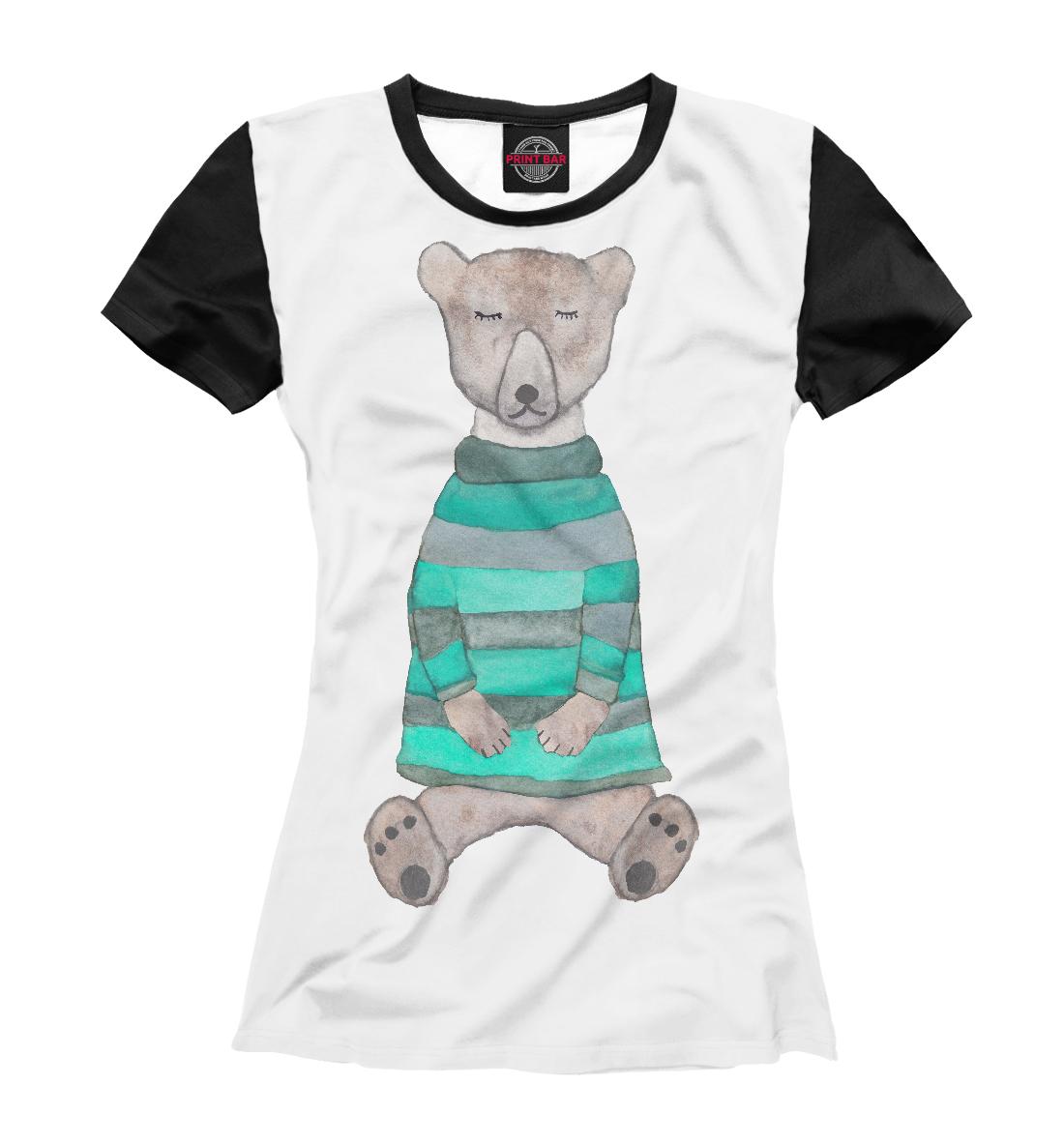 Купить Спящий медвежонок, Printbar, Футболки, MED-514372-fut-1