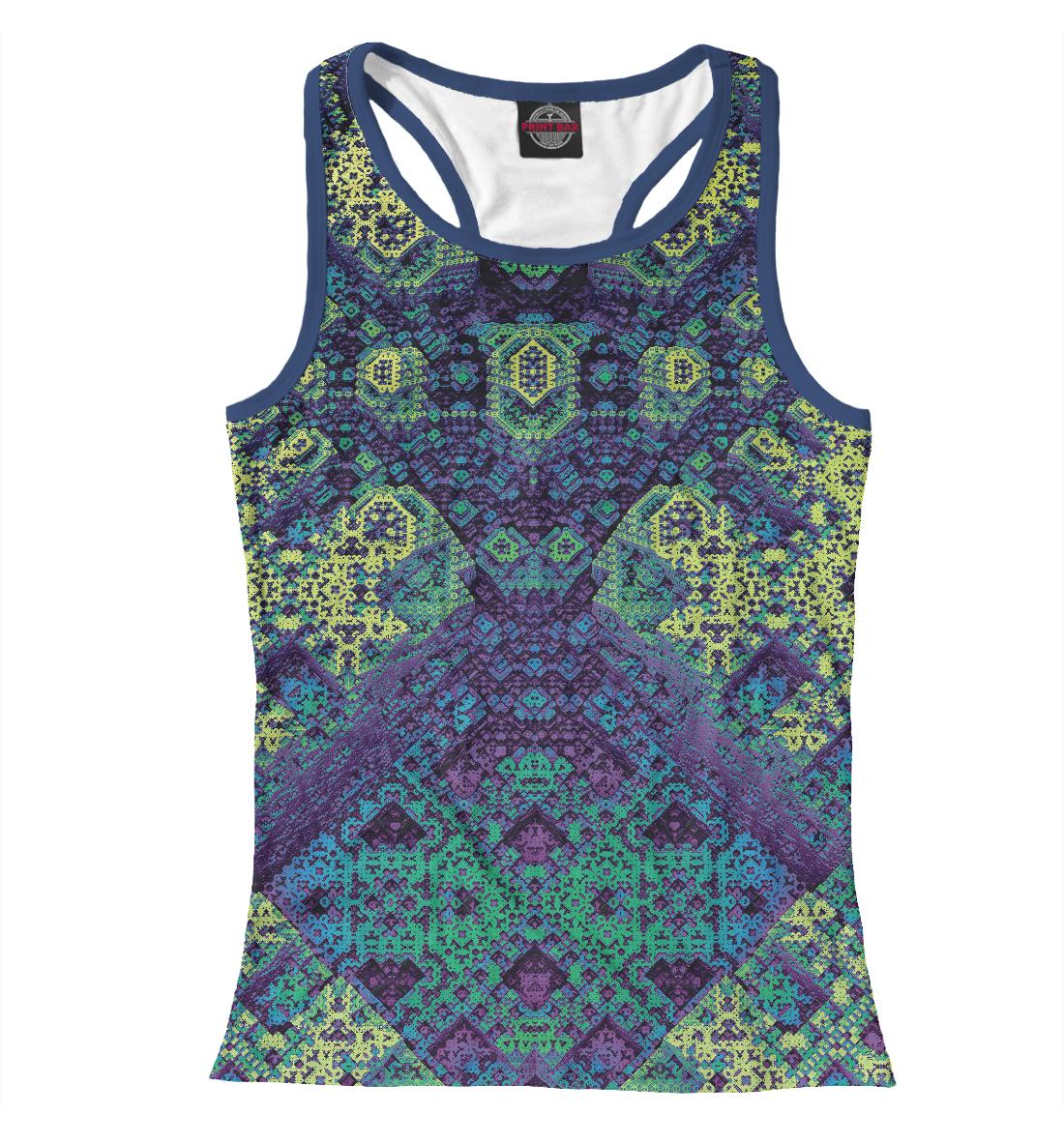 Купить Square fractal, Printbar, Майки борцовки, PSY-774029-mayb-1