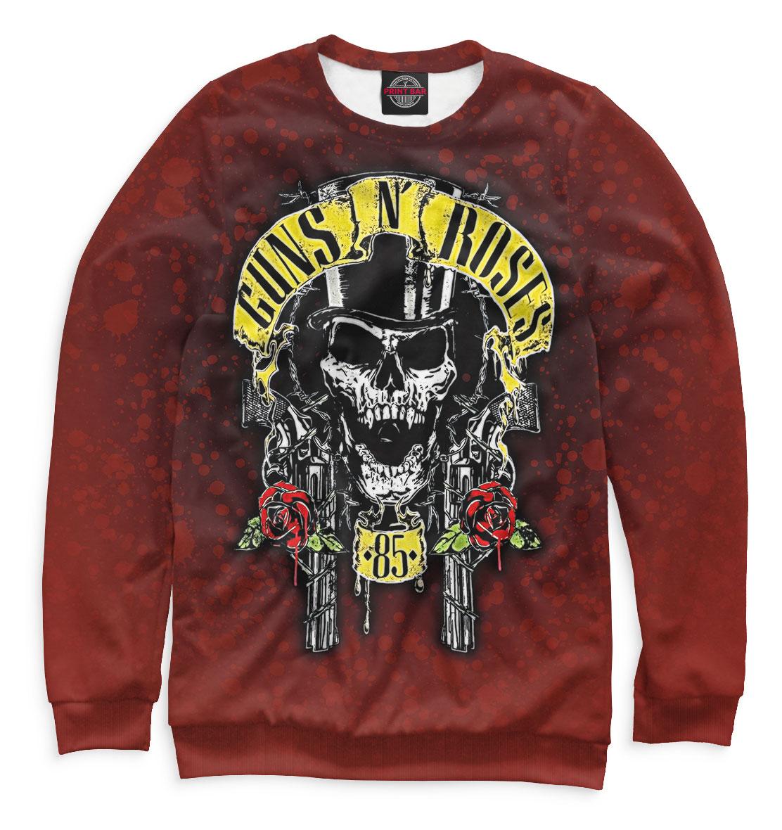 Купить Guns N' Roses, Printbar, Свитшоты, GNR-681394-swi-2