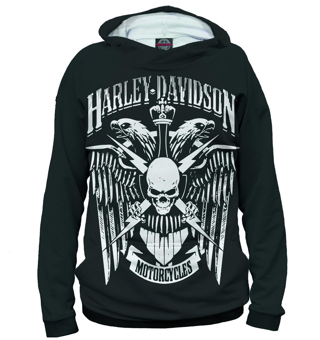 Купить Harley Davidson Motorcycles, Printbar, Худи, MTR-575884-hud-2