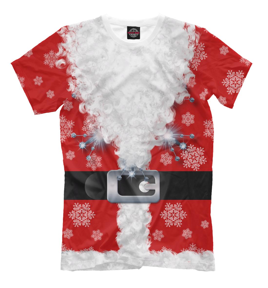 Купить Дед мороз, Printbar, Футболки, CST-773312-fut-2