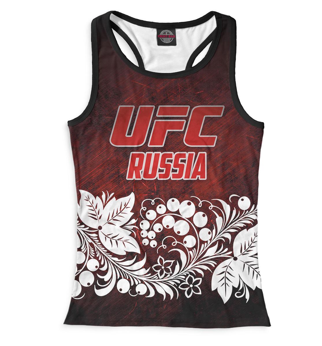 Купить UFC Russia, Printbar, Майки борцовки, MNU-613848-mayb-1
