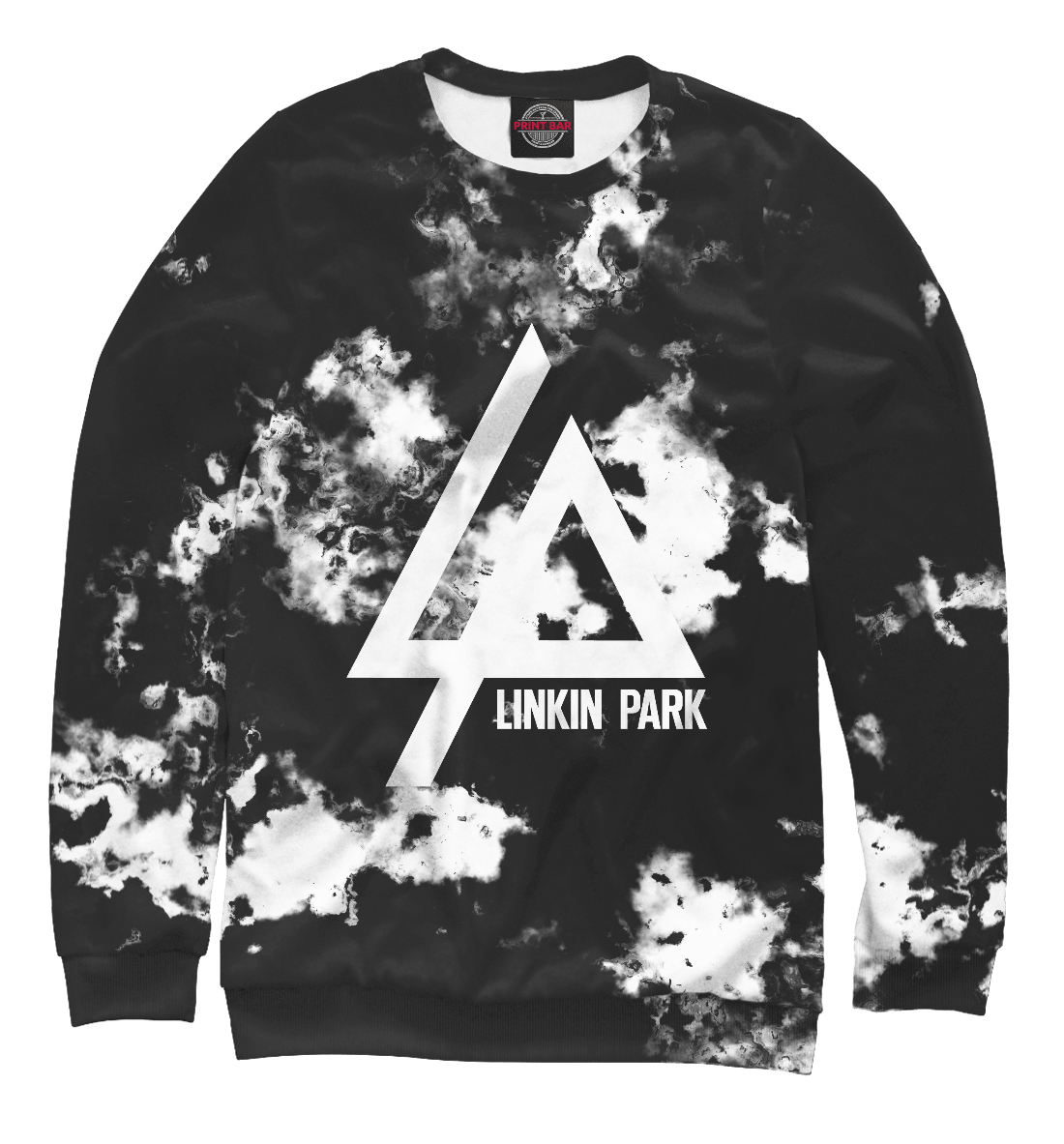 Купить Linkin Park smoke collection 2018, Printbar, Свитшоты, LIN-477732-swi-2
