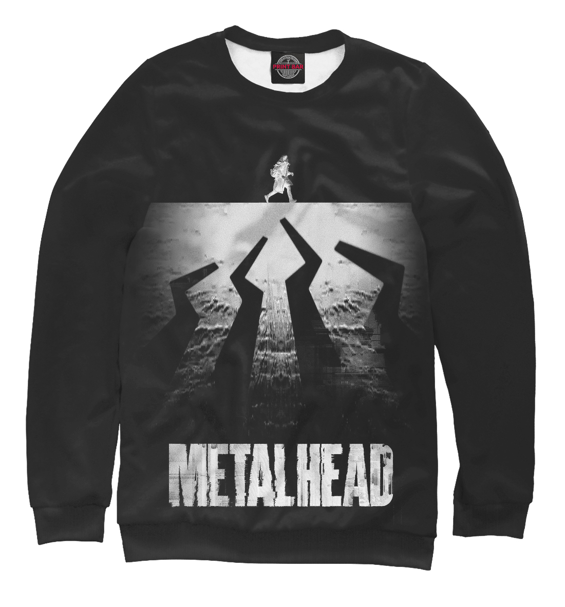 Купить Black Mirror: Metalhead, Printbar, Свитшоты, BLM-935602-swi-1