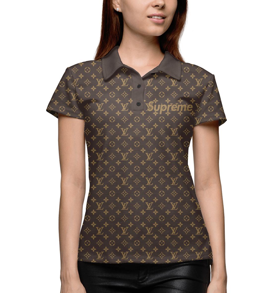 Купить Supreme Louis Vuitton, Printbar, Поло, SPR-676676-pol-1