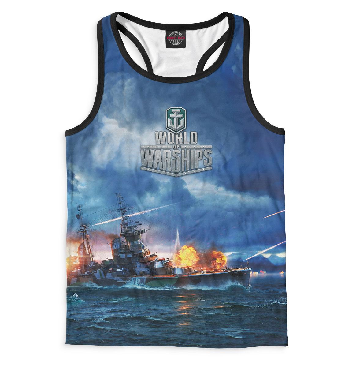Купить World of Warships, Printbar, Майки борцовки, WOS-874533-mayb-2