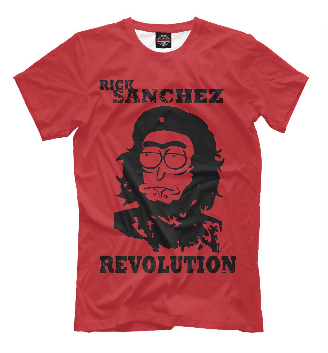 Купить Rick Sanchez Revolution, Printbar, Футболки, RNM-876730-fut-2