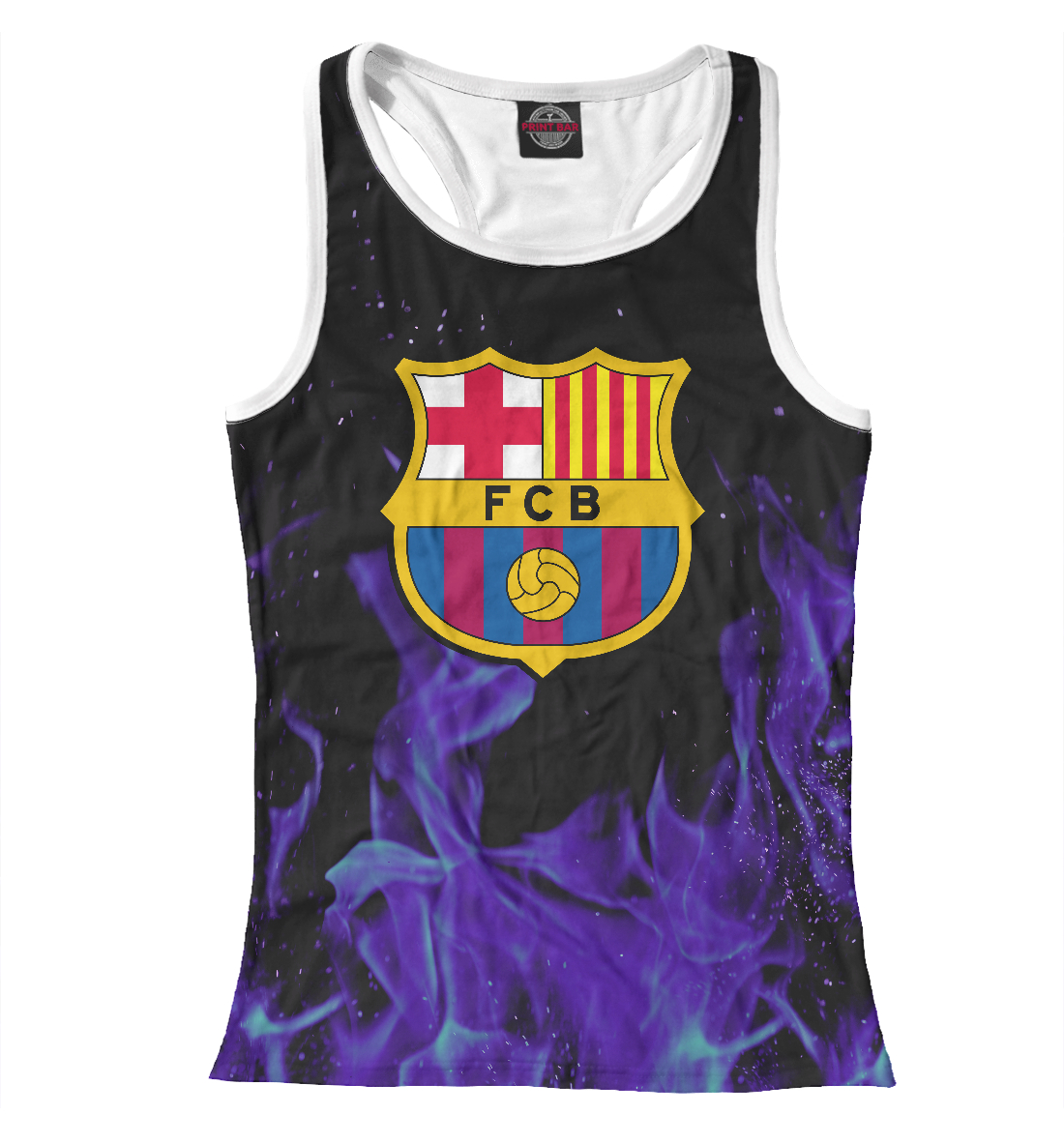 Купить Barcelona Fire, Printbar, Майки борцовки, BAR-696708-mayb-1