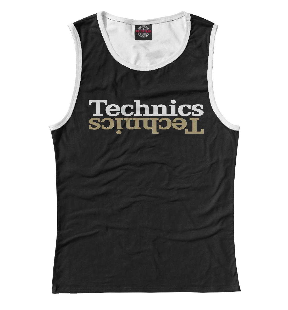 Купить Technics, Printbar, Майки, DJS-741432-may-1
