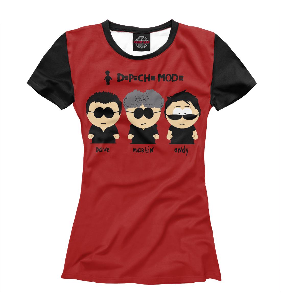 Купить Depeche Mode, Printbar, Футболки, DPM-328853-fut-1