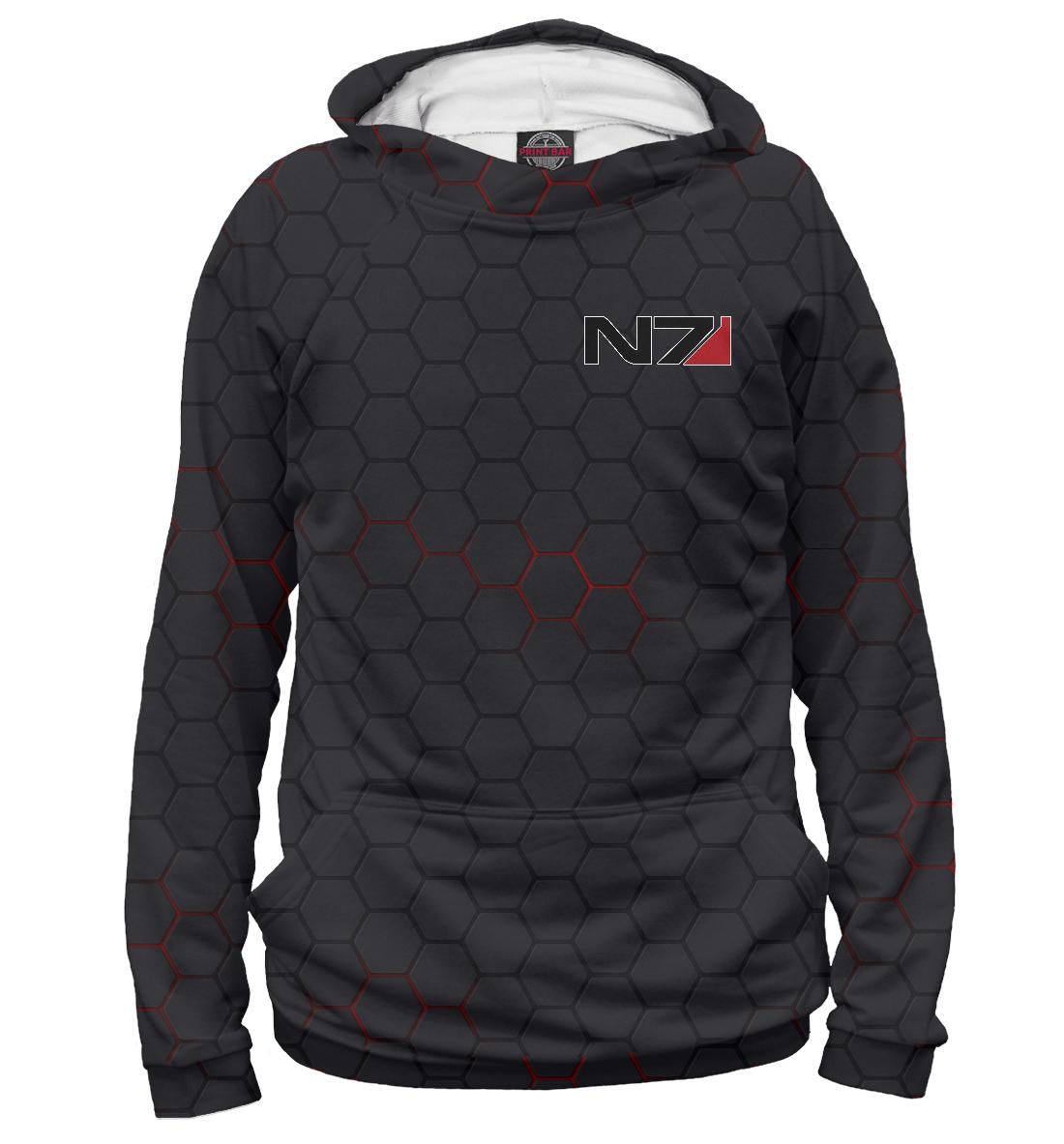 Купить N7 - Mass Effect, Printbar, Худи, MSE-717123-hud-2