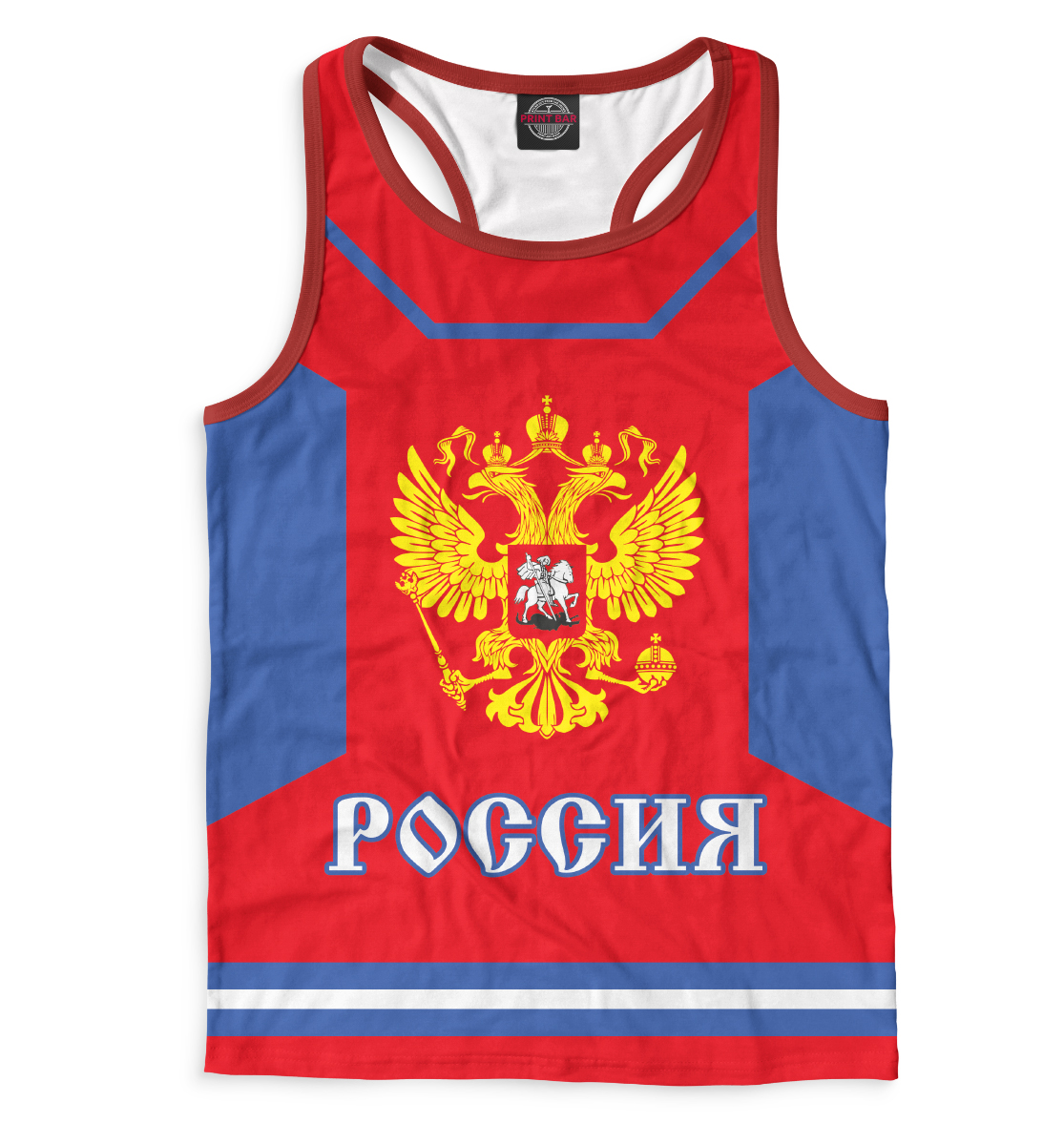 Купить Евгений Малкин, Printbar, Майки борцовки, HOK-605478-mayb-2