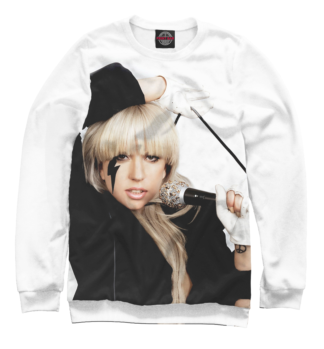 Купить Lady Gaga, Printbar, Свитшоты, ZNR-962967-swi-2