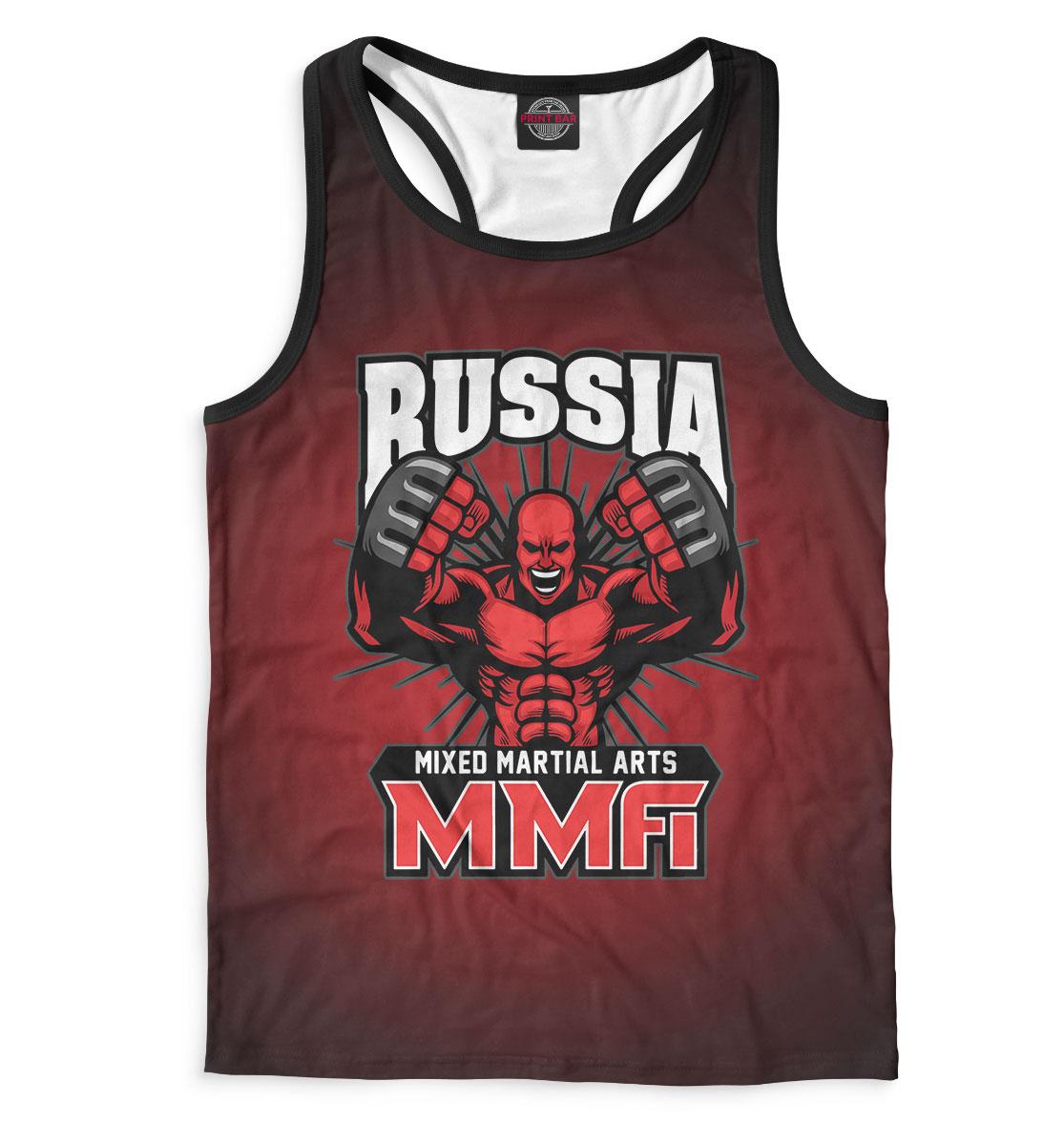 Купить MMA Russia, Printbar, Майки борцовки, MNU-882234-mayb-2