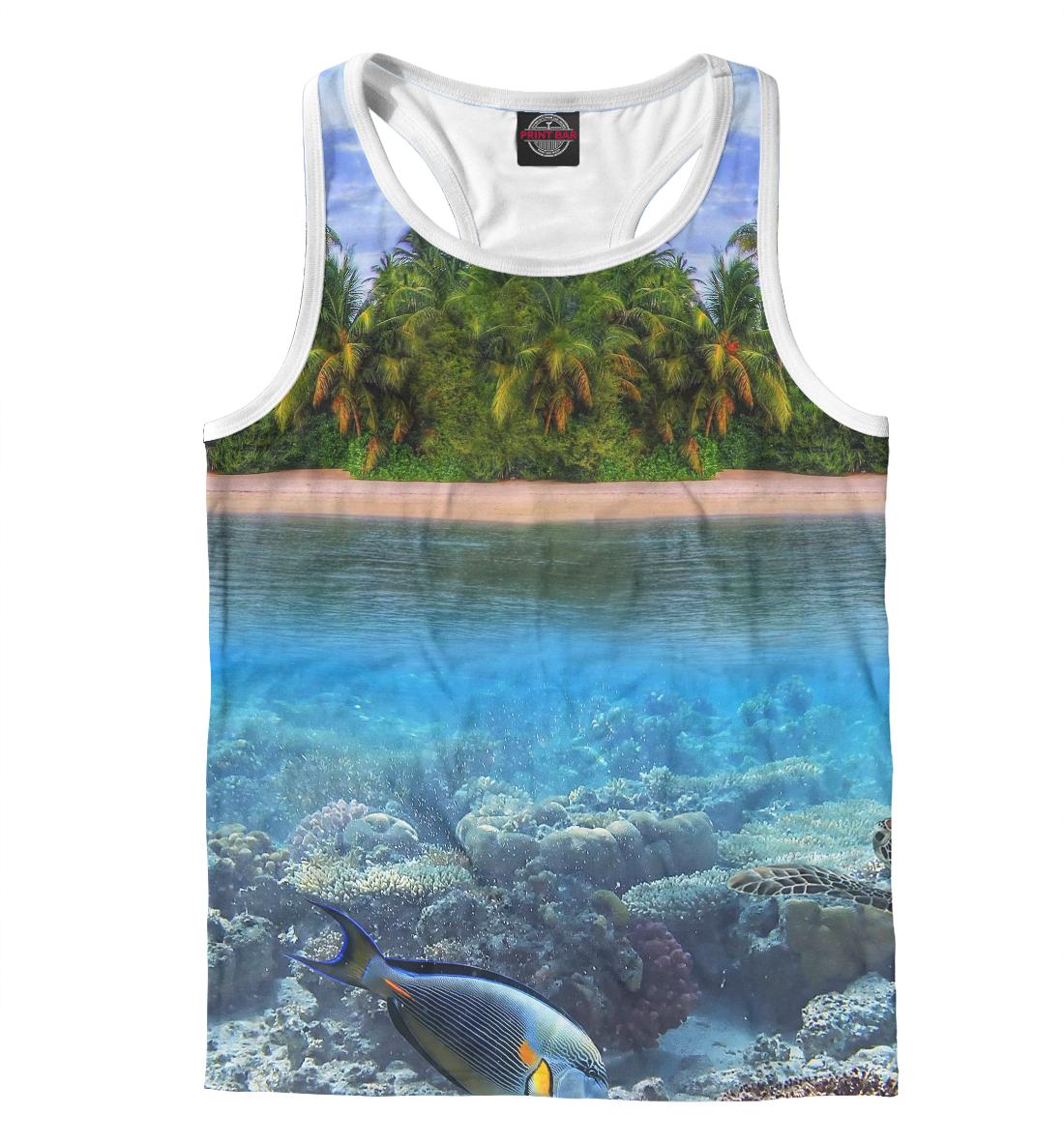 Купить Тропический остров, Printbar, Майки борцовки, PEY-401053-mayb-2