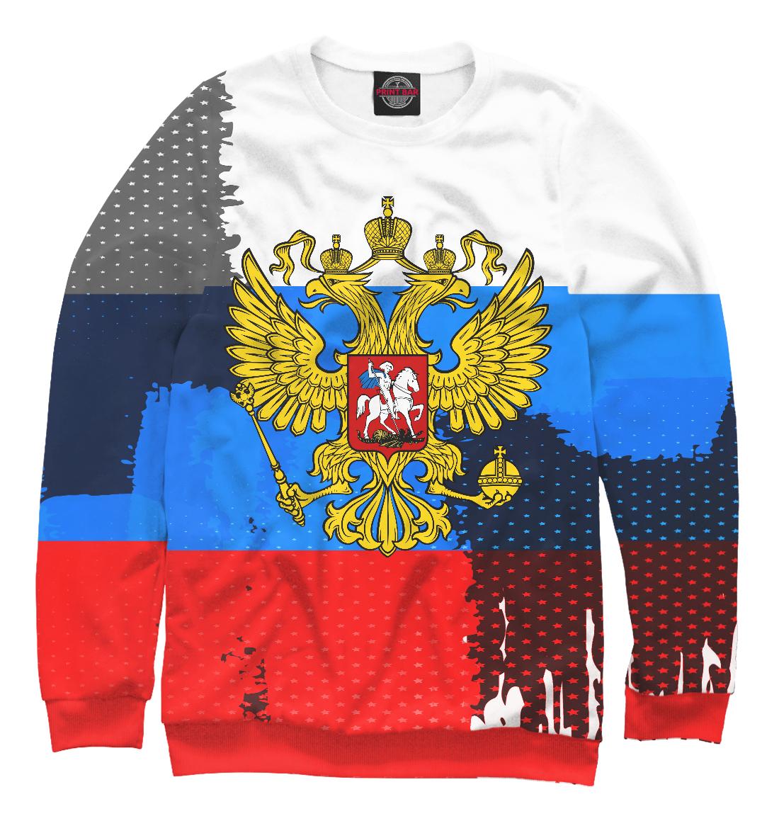 Купить Россия триколор, Printbar, Свитшоты, SRF-926777-swi-1