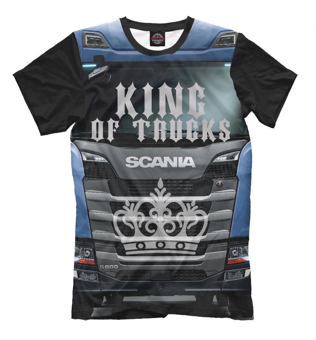 SCANIA - король грузовиков, Printbar, Футболки, GRZ-768093-fut-2  - купить со скидкой